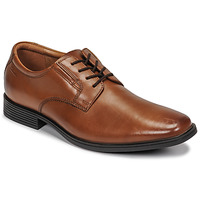 kengät Miehet Derby-kengät Clarks TILDEN PLAIN Ruskea