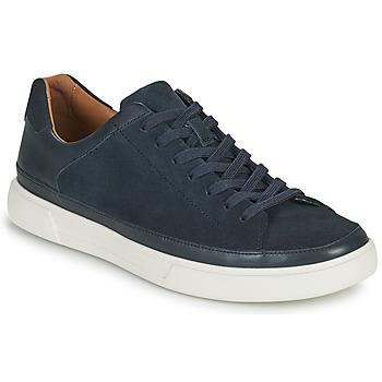 kengät Miehet Matalavartiset tennarit Clarks UN COSTA TIE Sininen