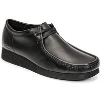 kengät Miehet Derby-kengät Clarks WALLABEE 2 Musta