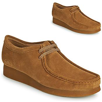 kengät Miehet Derby-kengät Clarks WALLABEE 2 Ruskea