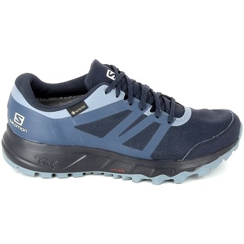 kengät Naiset Juoksukengät / Trail-kengät Salomon Trailster 2 GTX Marine Sininen