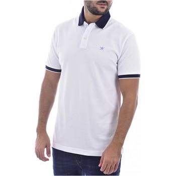 vaatteet Miehet T-paidat & Poolot Hackett HM562698 Valkoinen