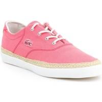 kengät Naiset Matalavartiset tennarit Lacoste Glendon Espa Vaaleanpunaiset