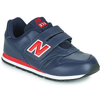 kengät Lapset Matalavartiset tennarit New Balance 373 Sininen