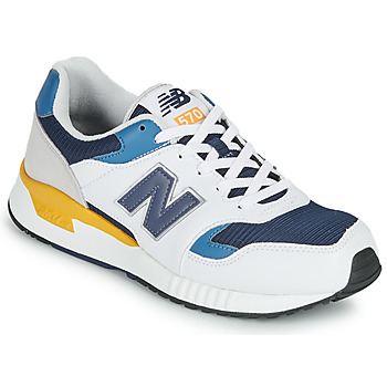 kengät Miehet Matalavartiset tennarit New Balance 570 White / Yellow