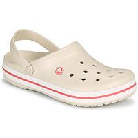 kengät Naiset Puukengät Crocs CROCBAND Beige / Koralli