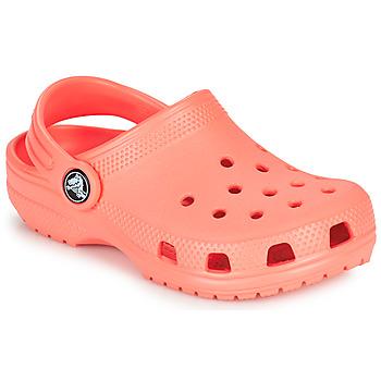 kengät Lapset Puukengät Crocs CLASSIC CLOG K Oranssi