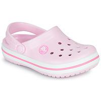 kengät Tytöt Puukengät Crocs CROCBAND CLOG K Vaaleanpunainen