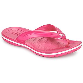 kengät Lapset Varvassandaalit Crocs CROCBAND FLIP GS Vaaleanpunainen