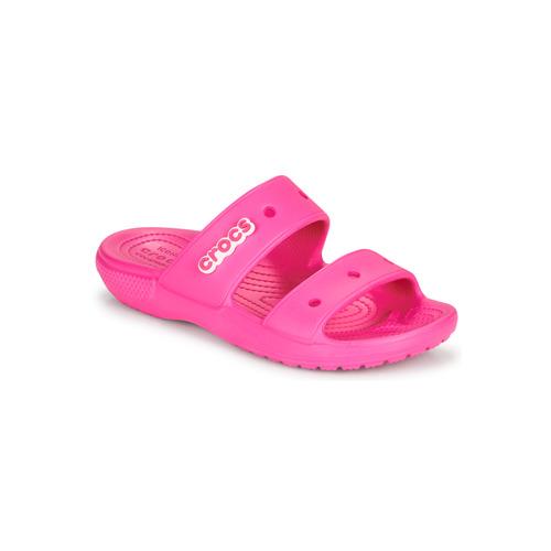 kengät Naiset Sandaalit ja avokkaat Crocs CLASSIC CROCS SANDAL Vaaleanpunainen