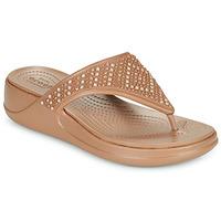 kengät Naiset Varvassandaalit Crocs CROCS MONTEREY SHIMMER WGFPW Pronssi
