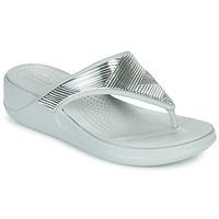 kengät Naiset Varvassandaalit Crocs CROCS MONTEREY METALLIC WGFPW Hopea