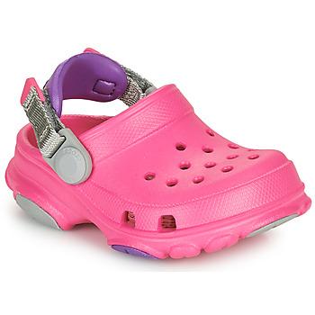 kengät Tytöt Puukengät Crocs CLASSIC ALL-TERRAIN CLOG K Vaaleanpunainen