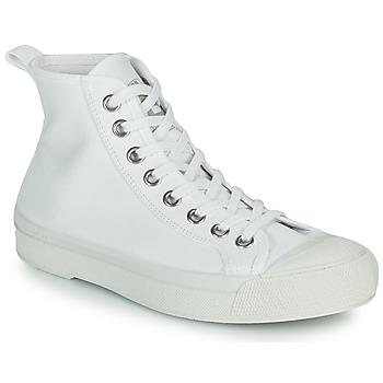 kengät Naiset Matalavartiset tennarit Bensimon B79 MID Valkoinen