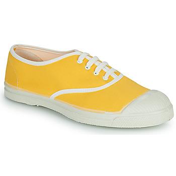 kengät Naiset Matalavartiset tennarit Bensimon VINTAGE Keltainen