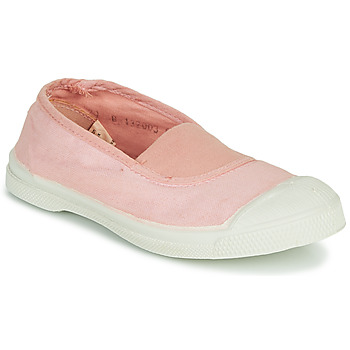 kengät Tytöt Matalavartiset tennarit Bensimon TENNIS ELASTIQUE Vaaleanpunainen