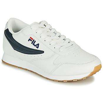 kengät Miehet Matalavartiset tennarit Fila ORBIT LOW Valkoinen / Sininen