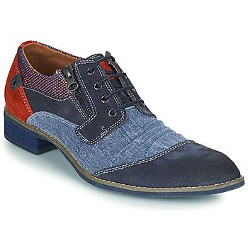 kengät Miehet Derby-kengät Kdopa MONTMARTRE Sininen / Ruskea