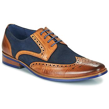 kengät Miehet Derby-kengät Kdopa MANI Kamelinruskea / Sininen