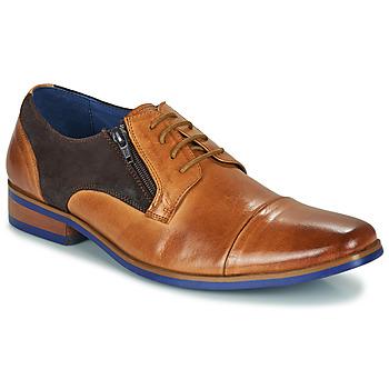 kengät Miehet Derby-kengät Kdopa SNOOP Kamelinruskea / Sininen