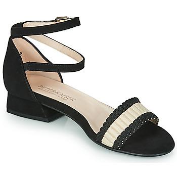 kengät Naiset Sandaalit ja avokkaat Peter Kaiser PUERTO Musta