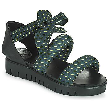 kengät Naiset Sandaalit ja avokkaat Papucei LILLA Sininen / Musta
