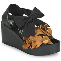 kengät Naiset Sandaalit ja avokkaat Papucei MAYA Musta / Ruskea