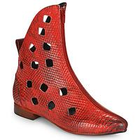 kengät Naiset Bootsit Papucei SAKURA Punainen