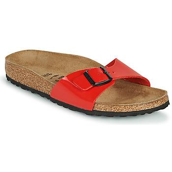 kengät Naiset Sandaalit Birkenstock MADRID Punainen