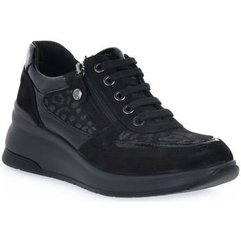 kengät Naiset Matalavartiset tennarit Enval LEOL NERO Nero