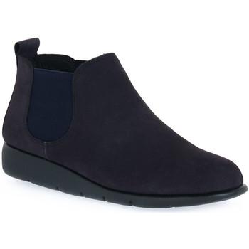 kengät Naiset Bootsit Frau NABOUCK NAVY Blu