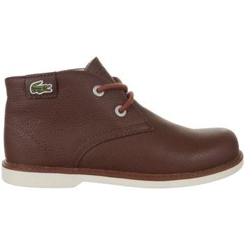 kengät Lapset Bootsit Lacoste Sherbrook HI SB Spc Ruskeat