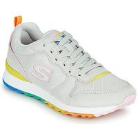 kengät Naiset Matalavartiset tennarit Skechers OG 85 Valkoinen / Keltainen