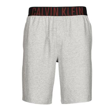 vaatteet Miehet Shortsit / Bermuda-shortsit Calvin Klein Jeans SLEEP SHORT Harmaa