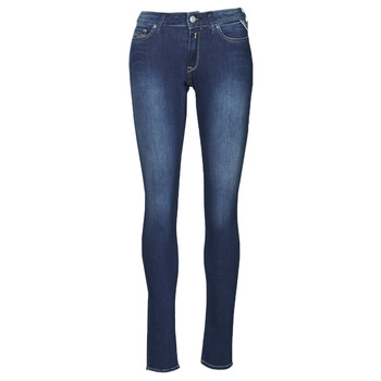 vaatteet Naiset Skinny-farkut Replay NEW LUZ Sininen
