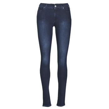 vaatteet Naiset Skinny-farkut Replay NEW LUZ Sininen / Tumma