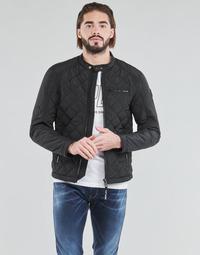 vaatteet Miehet Pusakka Replay  Musta