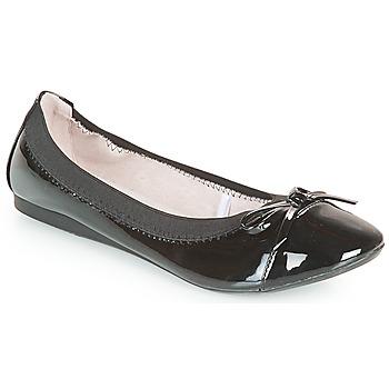 kengät Naiset Balleriinat Moony Mood ELALA Musta