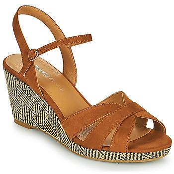 kengät Naiset Sandaalit ja avokkaat Moony Mood MALIA Kamelinruskea