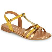 kengät Naiset Sandaalit ja avokkaat Moony Mood OSOM Keltainen