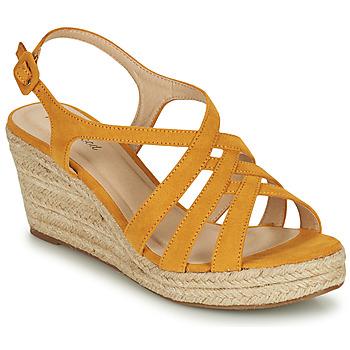 kengät Naiset Sandaalit ja avokkaat Moony Mood ONICE Keltainen