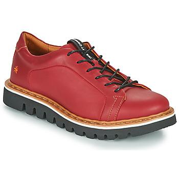 kengät Naiset Derby-kengät Art TORONTO Vaaleanpunainen
