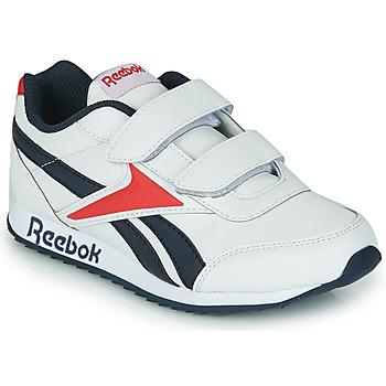 kengät Lapset Matalavartiset tennarit Reebok Classic REEBOK ROYAL CLJOG 2 2V White / Laivastonsininen / Red