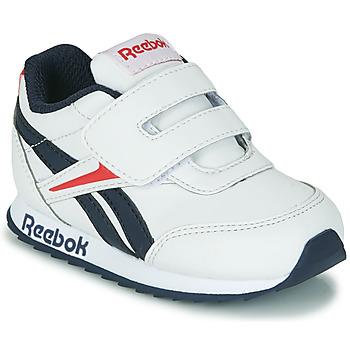kengät Lapset Matalavartiset tennarit Reebok Classic REEBOK ROYAL CLJOG 2 KC White / Laivastonsininen / Red