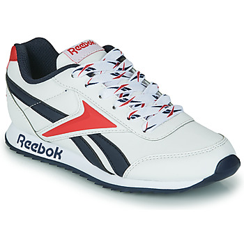 kengät Lapset Matalavartiset tennarit Reebok Classic REEBOK ROYAL CLJOG 2 White / Laivastonsininen / Red