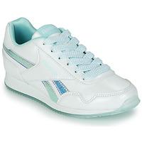 kengät Tytöt Matalavartiset tennarit Reebok Classic REEBOK ROYAL CLJOG 3.0 Valkoinen / Sininen