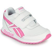 kengät Tytöt Matalavartiset tennarit Reebok Classic REEBOK ROYAL CLJOG 2 KC Valkoinen / Pink