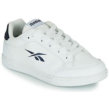 kengät Lapset Matalavartiset tennarit Reebok Classic REEBOK ROYAL VECTOR SMASH Valkoinen / Sininen