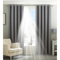 Koti Verhot, kaihtimet Riva Home Taille 3: 168 x 137cm Silver