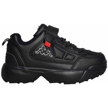 kengät Lapset Matalavartiset tennarit Kappa Rave NC K Mustat
